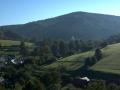 Vrch Klínec (667m) nad Rajnochovicemi budují rusavské vrstvy hostýnské litofaciální zóny.