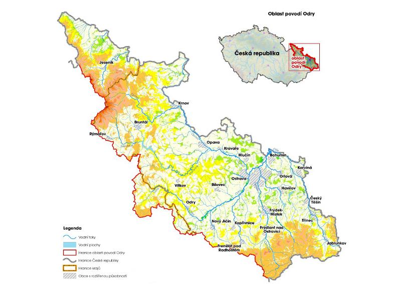 Oblast Povodi Reky Odry Moravske Karpaty Cz